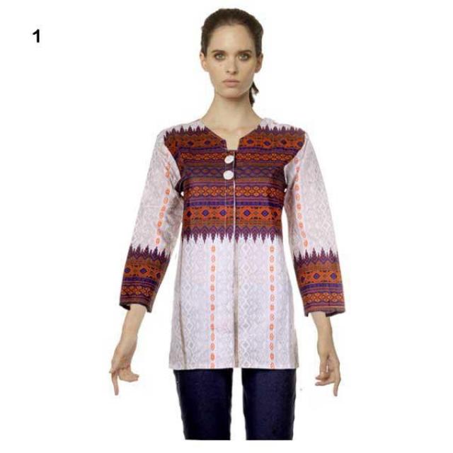 Jual Blus Batik I Model Baju Blus Terbaru Dewanti Oleh Fashion Batik Di Bantul Winmarket Shop