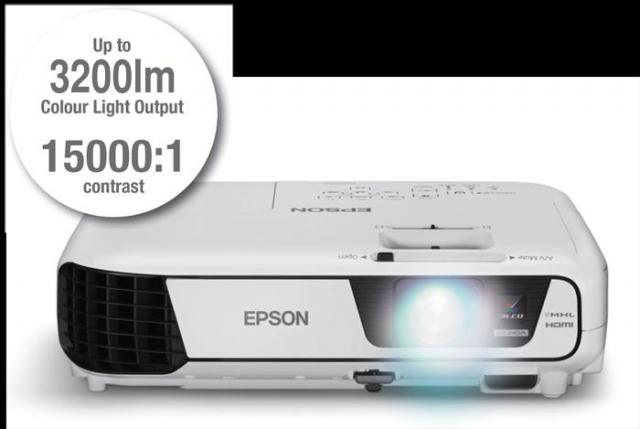 EPSON Projector EB-X350 3200 Ansi Lumens