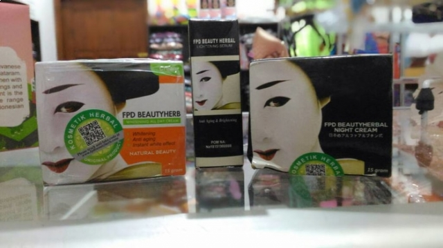 Paket cream FPD beauty herbal / vage / magic glossy / night+day+serum