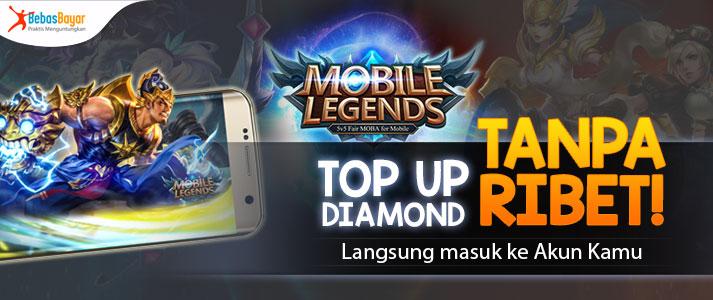 Jual Diamond Mobile Legends Murah Top Up Tanpa Ribet Bebasbayar