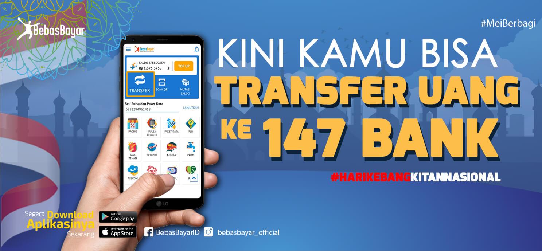 Pakai BebasBayar, Transfer Uang Kini Makin Gampang!