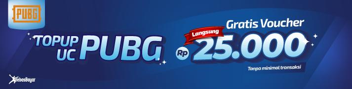 cara beli UC PUBG mobile paling murah - BebasBayar