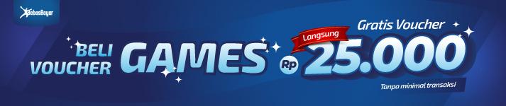 Beli Voucher Game Online Harga Murah dan Lengkap di BebasBayar