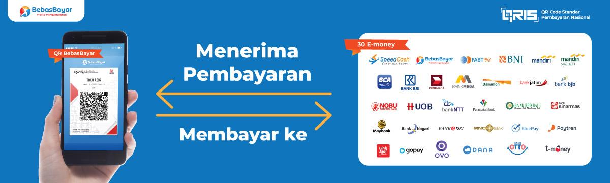 QR Code Payment Satu QRIS untuk Semua Pembayaran