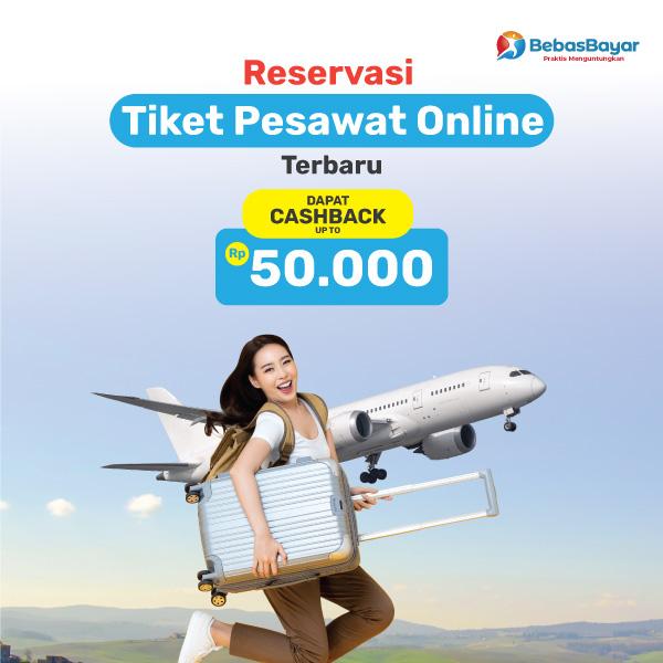 Reservasi Tiket Pesawat Online Terbaru Paling Mudah
