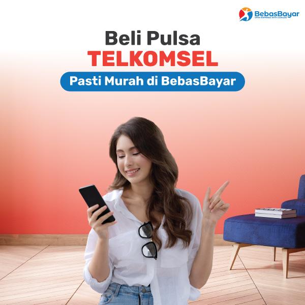 Beli Pulsa Telkomsel Harga Murah Online Terbaru 2021