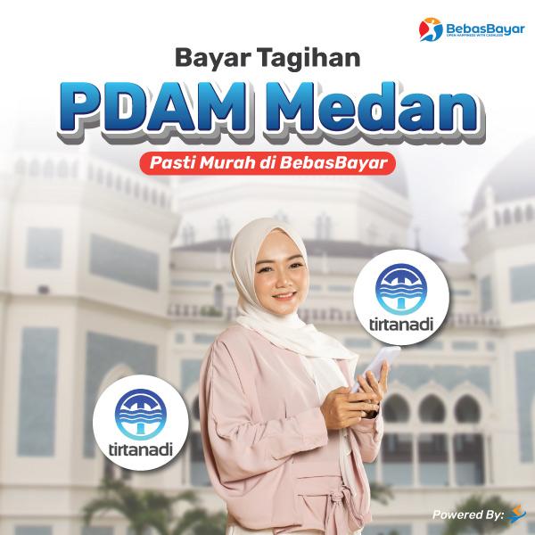 cek tagihan pdam Medan dan bayar bisa melalui online - BebasBayar