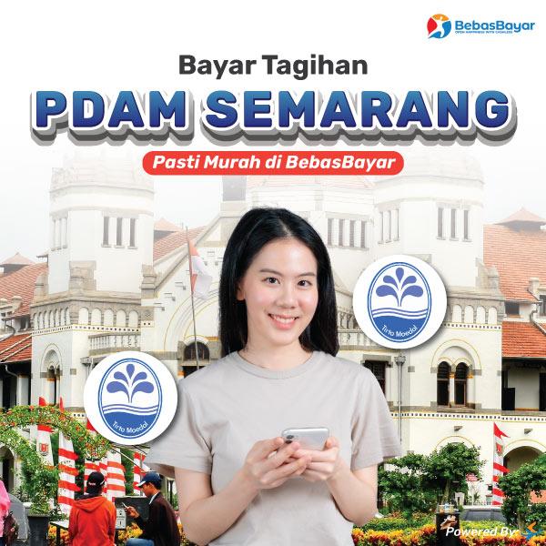 cek tagihan pdam Semarang dan bayar bisa melalui online - BebasBayar