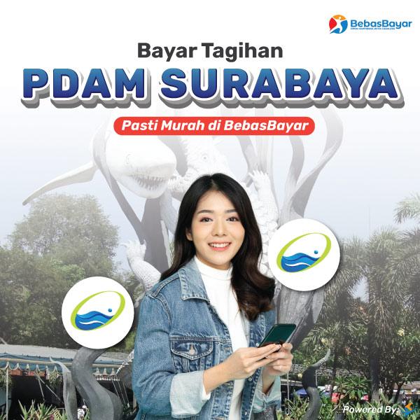Cek Tagihan PDAM Surabaya dan Bayar Online