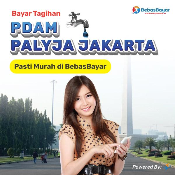 cek tagihan pdam PALYJA Jakarta dan bayar secara online