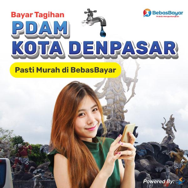 cek tagihan pdam Denpasar dan bayar bisa melalui online - BebasBayar
