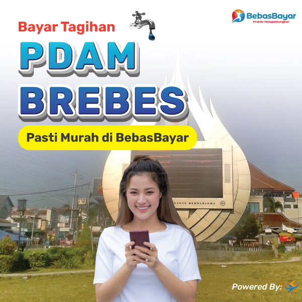 cek tagihan pdam Brebes dan bayar bisa melalui online - BebasBayar