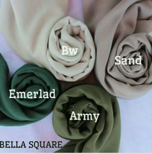 Kerudung Hijab Segi Empat Bella Square Belanja Bebasbayar