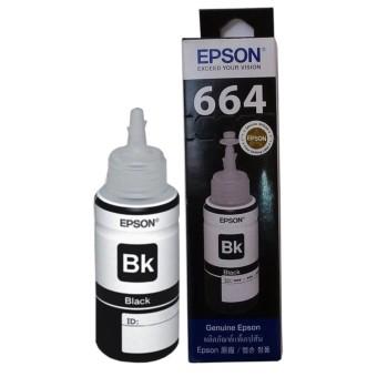 Epson T6641 Tinta Botol Epson L Series Original - Hitam