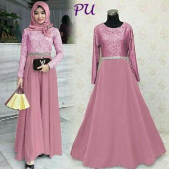 Fashion Muslim Gamis Kebaya Pesta Baju Muslim Pesta Kebaya