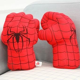 Suten 1 Pasang Pu Pelatihan Sarung Tangan Tinju Kick Boxing Berjuang Source · Luar biasa kartun tinju Spider Man Hulk sarung tangan sarung tangan Hitam ...