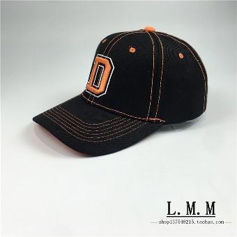 Beberapa Korea Fashion Style surat bordir melengkung topi baseball (Hitam  dan warna) 96fc45a63f