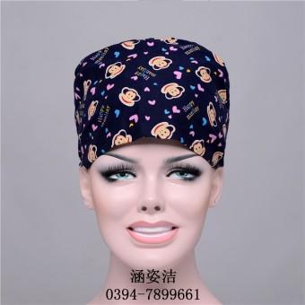 Dicetak topi ruang operasi topi topi bedah (Topi tunggal)