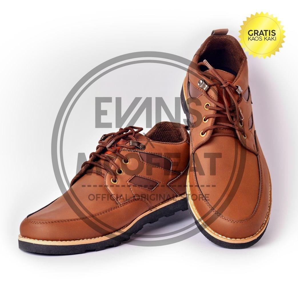 Jual Sepatu Moofeat Low Ring Boots Pria Import Kulit Asli Oleh Dyah Lunnar Tan