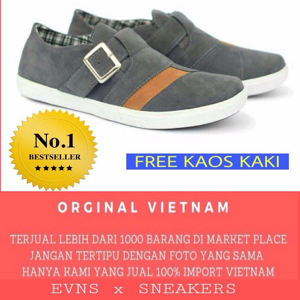 Sepatu Circle Slip On Casual Simple Original New Bagus Belanja Kaos Kaki