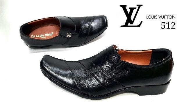 Jual Sepatu Kerja Pria New Lv Pantofel Kulit Asli Import Oleh Dyah