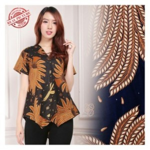 ... 168 Collection Atasan Blouse Mudita Kemeja Batik Wanita