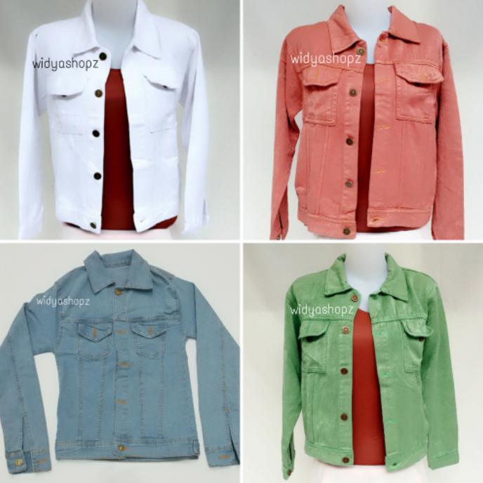 Jual Promo Jaket Jeans- Levis- Atasan- Wanita- Cewek- Murah     Oleh ... 83f55e3935