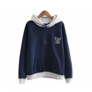 Atasan Wanita Cardigan Basic Cardy Spandek Knite Maroon Daftar Source · Sweater Hodie Wanita x Love Sweater Fleece Navy