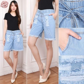 168 Collection Best Celana Pendek Jeans Nina Hot Pants Wanita