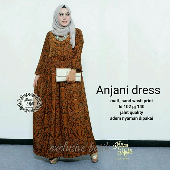 Dress Hijab Batik Gambar Islami
