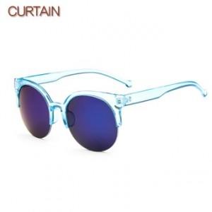 Permen berwarna busana transparan Colorful matahari kacamata kacamata hitam 85335abfa4