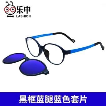 Perempuan tao pian frame kacamata anak laki-laki sunglasses kacamata hitam cc6f640ff0