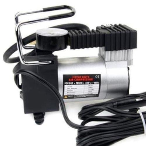 Pompa Mobil Electric - kompresor mini - Pompa Ban Mini Tekanan 100PSI - Heavy Duty Air Compressor 12V DC BELI SEKARANG