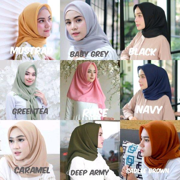 Hijab Segi Empat Bella Square Belanja Bebasbayar
