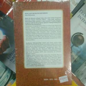 Pengantar Ekonomi Mikro Edisi Millennium - Soediyono Reksoprayitno