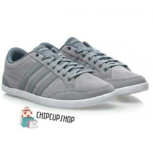 sepatu casual adidas grey shoes 100% original
