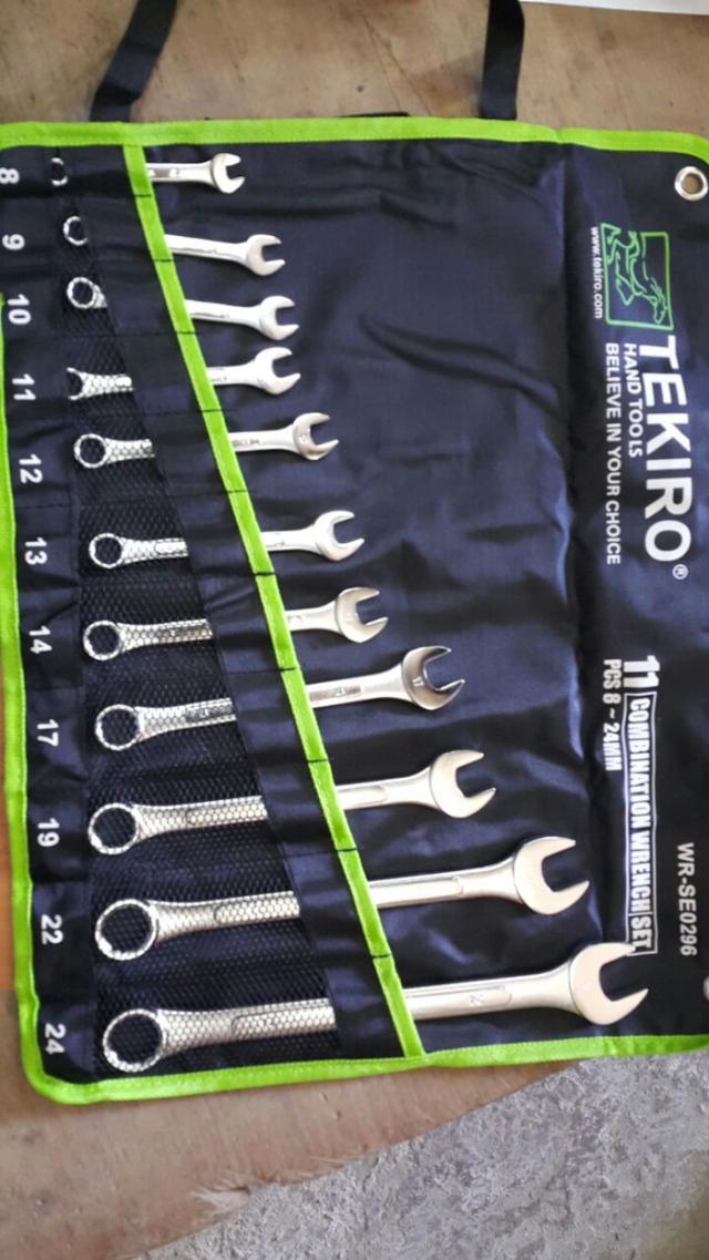 Kunci Ring Pas Tekiro 11 pcs 8 - 24 mm set